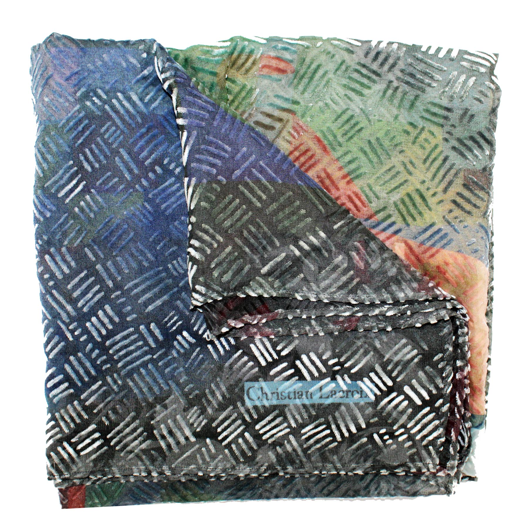 Christian Lacroix Scarf Multi Color - Extra Large Square Scarf SALE