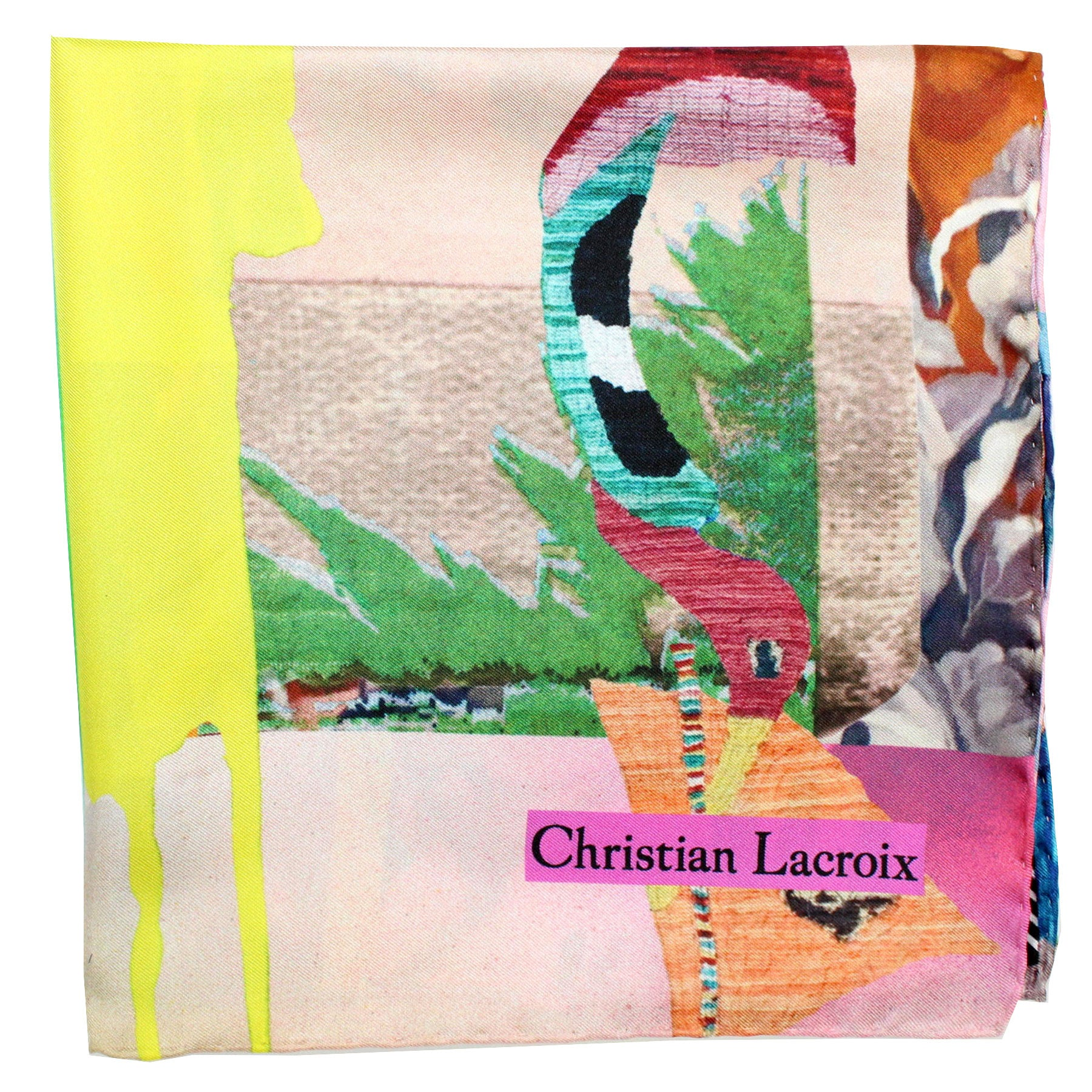 Christian Lacroix authentic Scarf