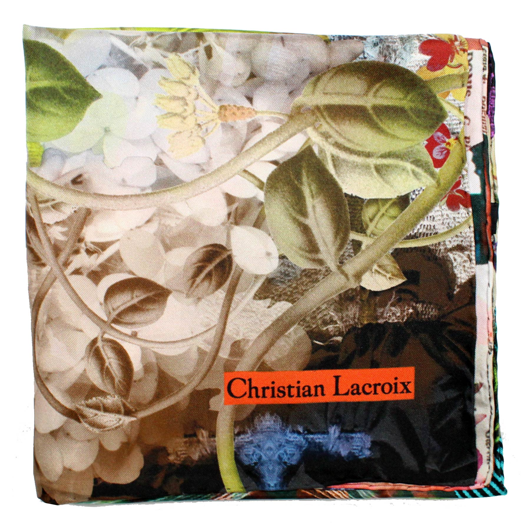 Christian Lacroix Silk Scarf