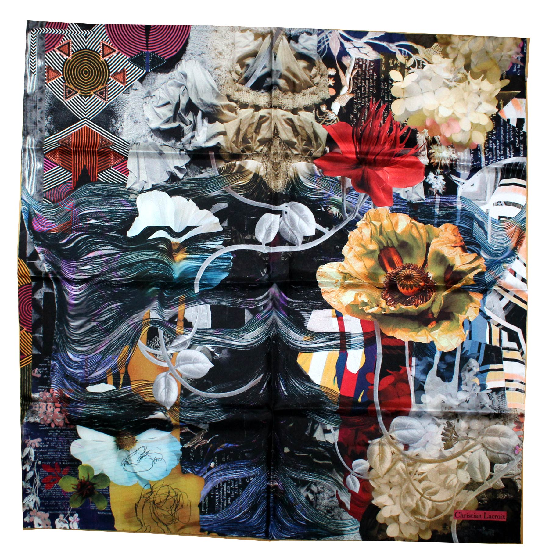 Christian Lacroix Scarf Signature New