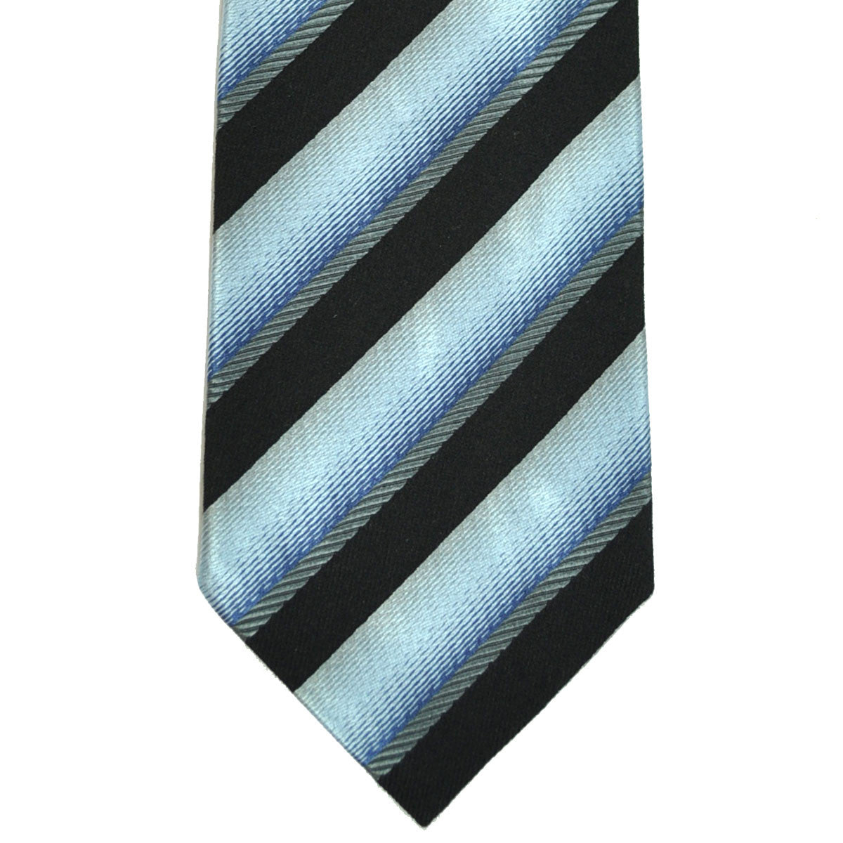 Christian Lacroix Necktie Blue Stripes