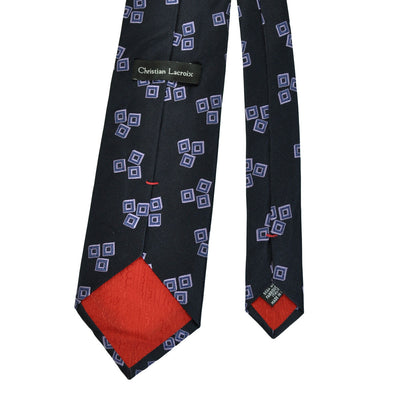Christian Lacroix Necktie Purple Design