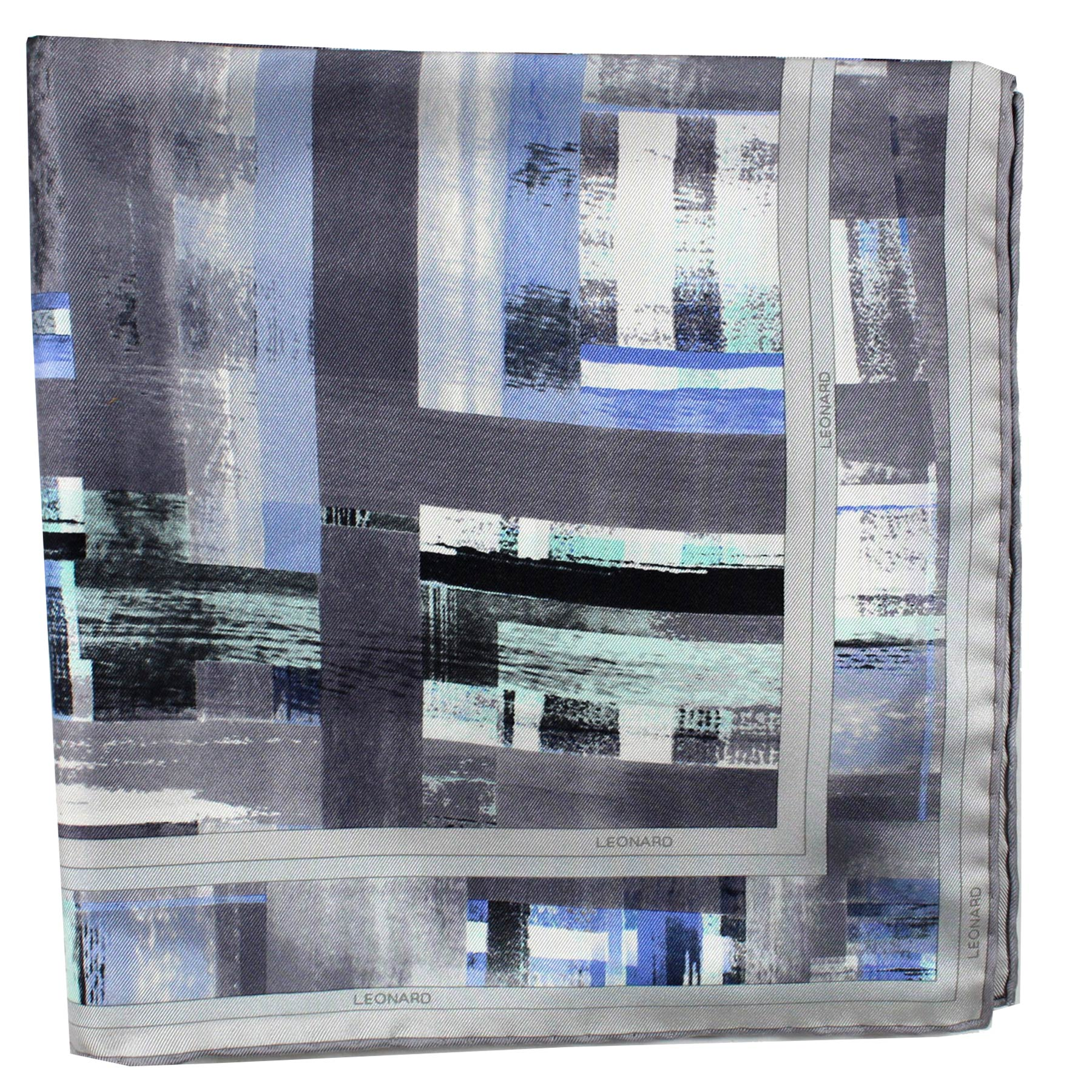 Twill Silk Large Square Scarf