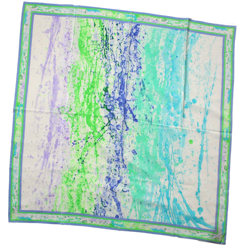 Italian Scarves  Large Square Silk Scarf