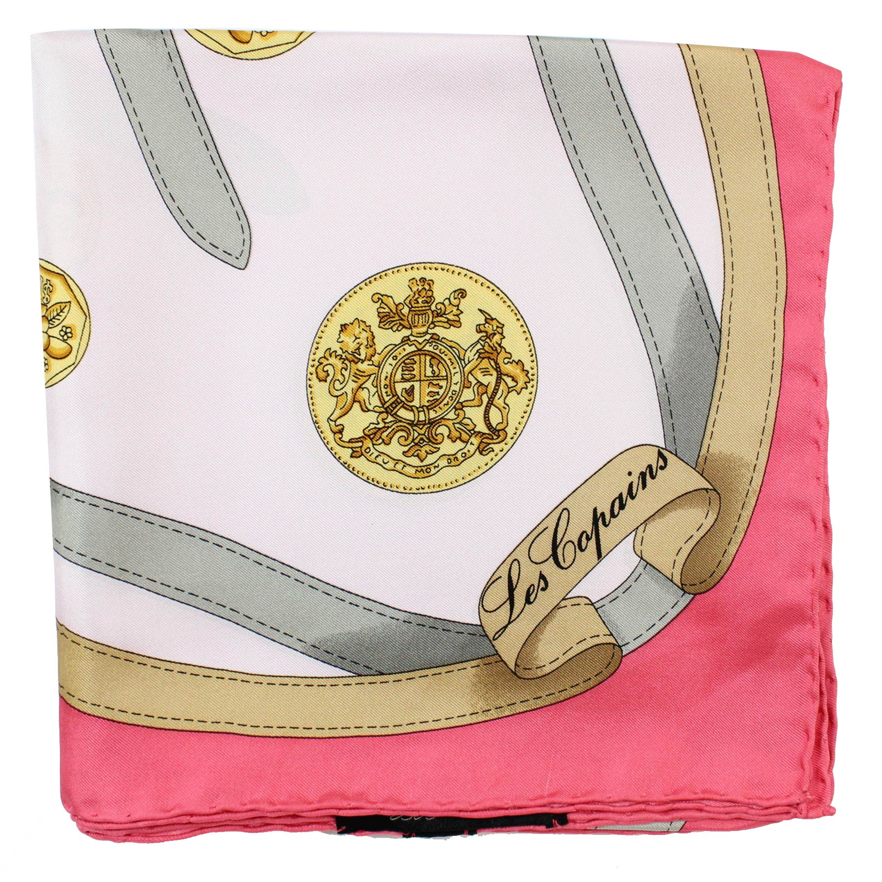Les Copains Scarf Pink New