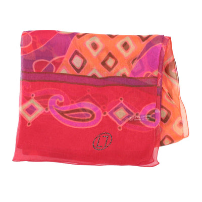 LL Scarf Red Pink