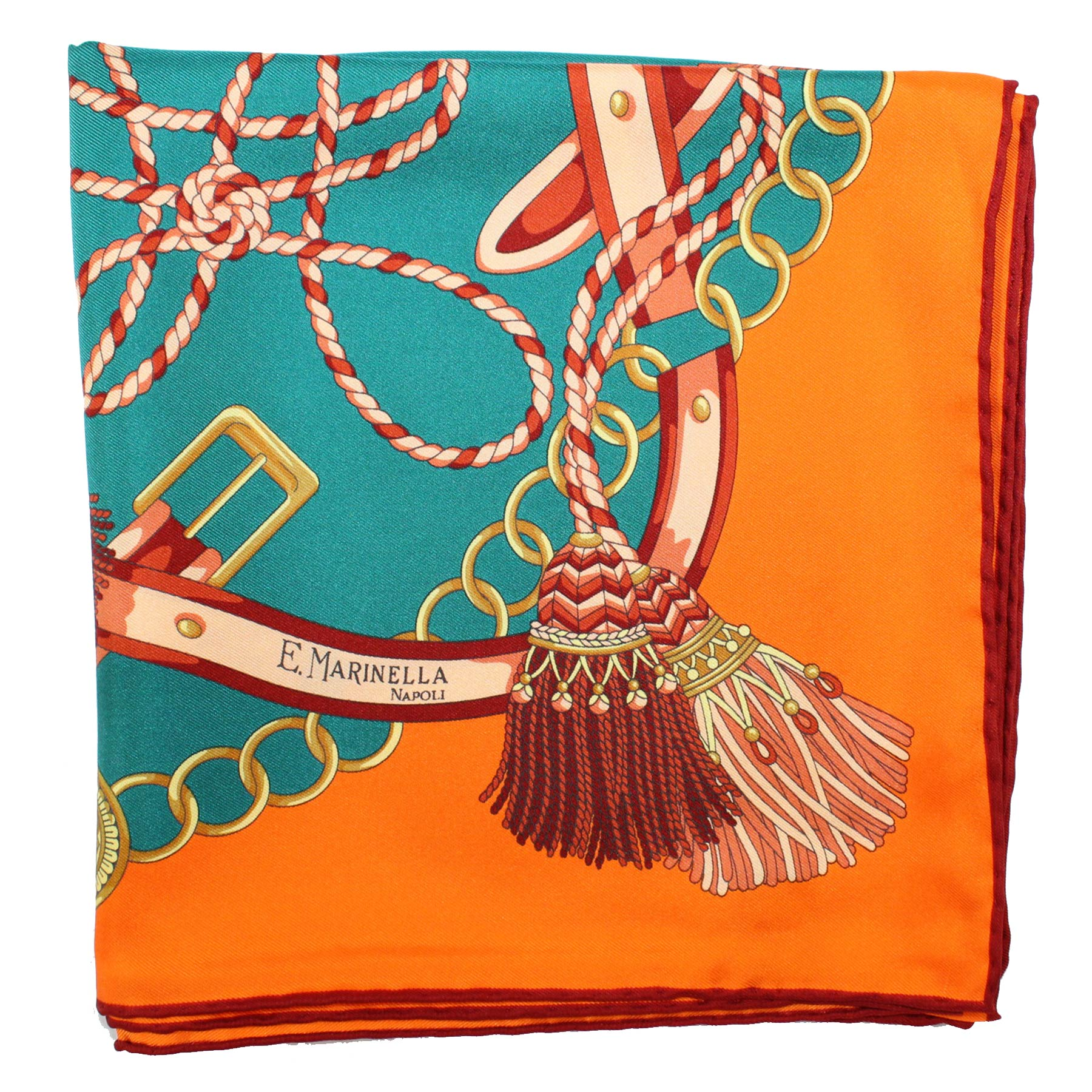 Orange Green Belts & Tassel