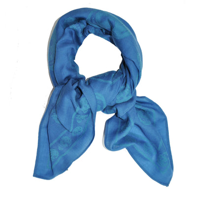 Large Wool Cotton Scarf