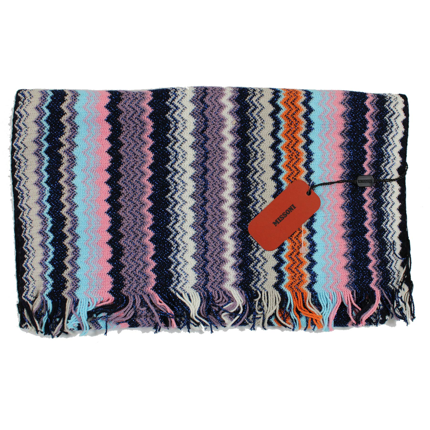 Missoni Scarf Chevron Design Women Designer Shawl