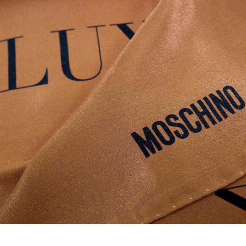 Moschino Scarf Luxury Is Relative - Small Square Scarf
