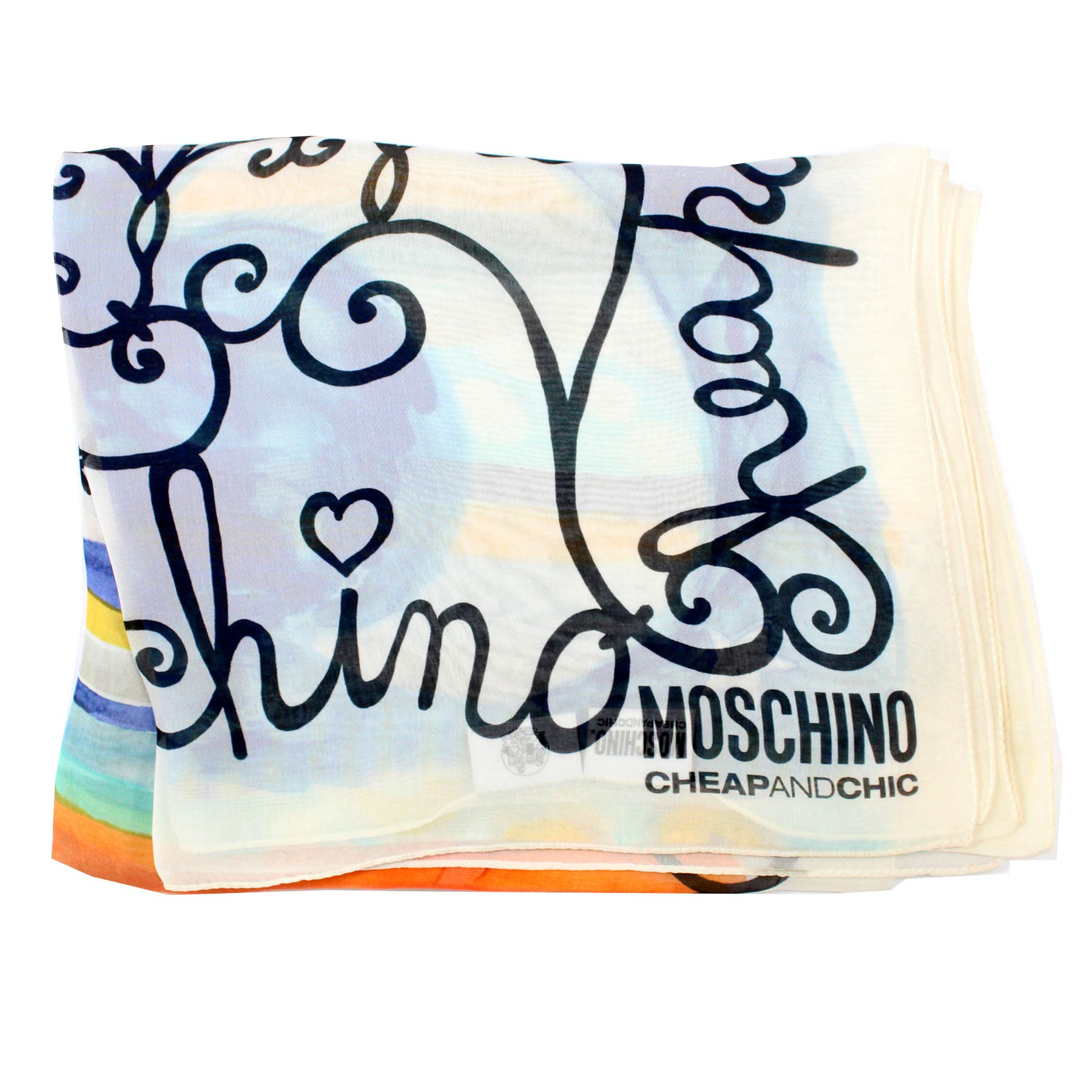 Moschino Silk Scarf Cheap & Chic