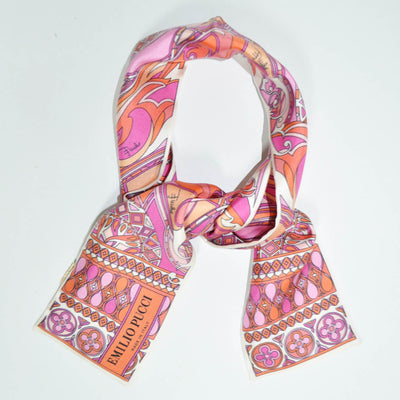 Emilio Pucci Small Scarf Pink