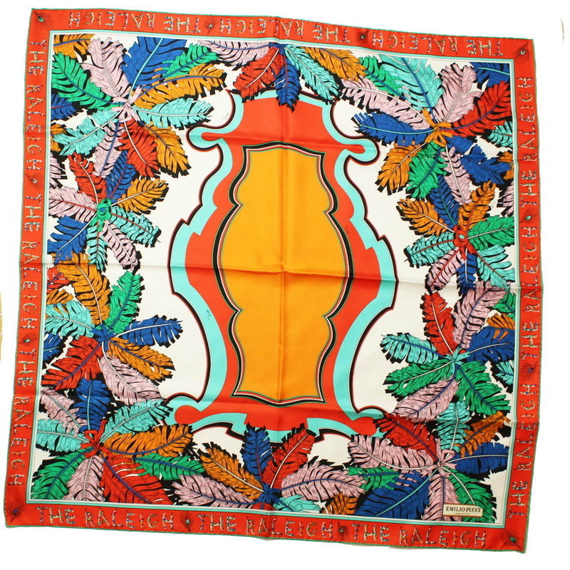 Large Twill Silk Square Scarf