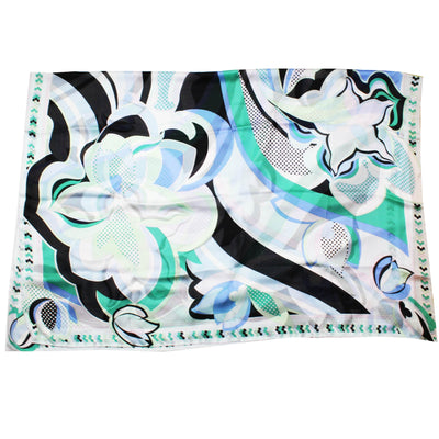Pucci Scarf Green Blue SAle