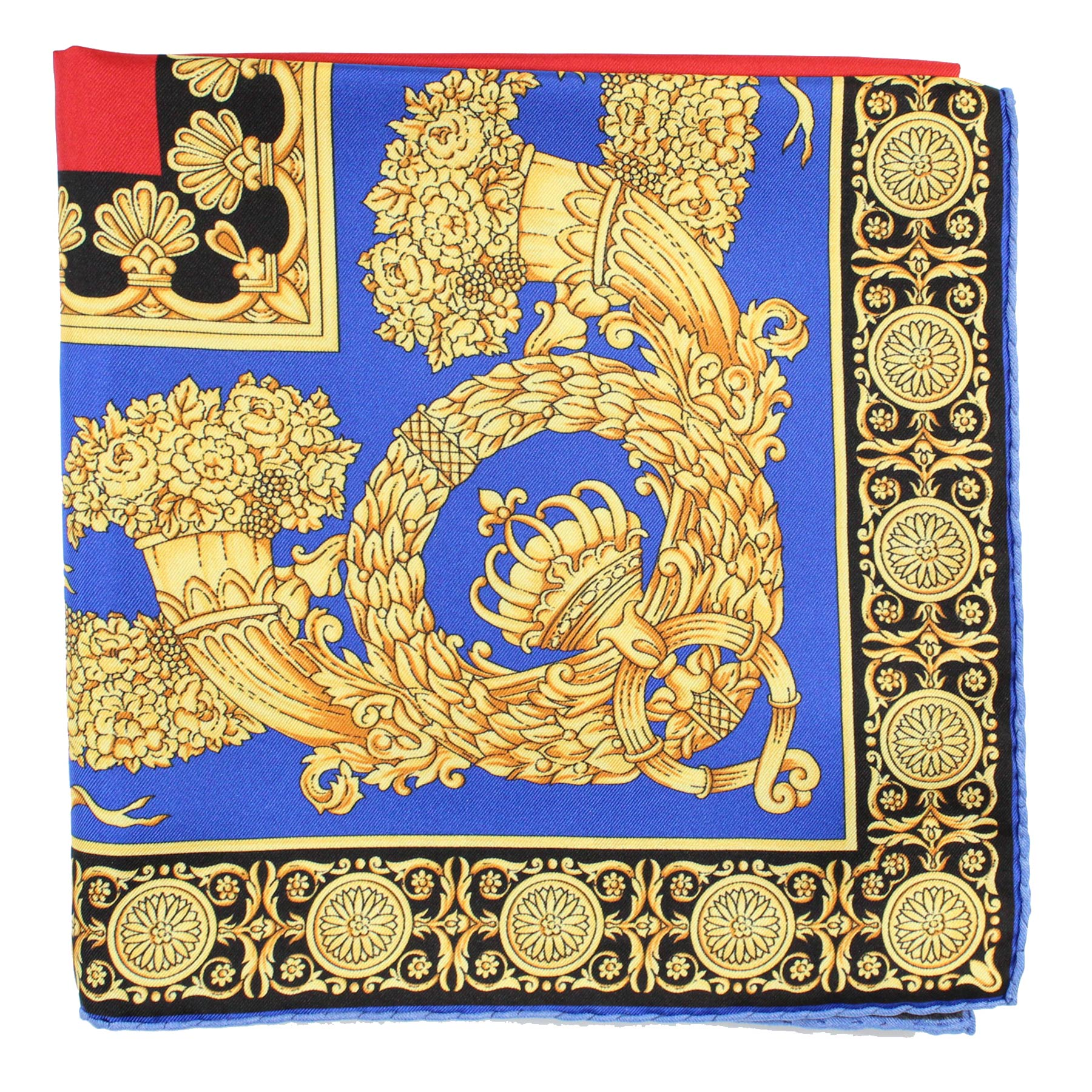 Versace Scarf Ornamental & Panther