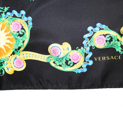Versace Scarf Black Miami Florida