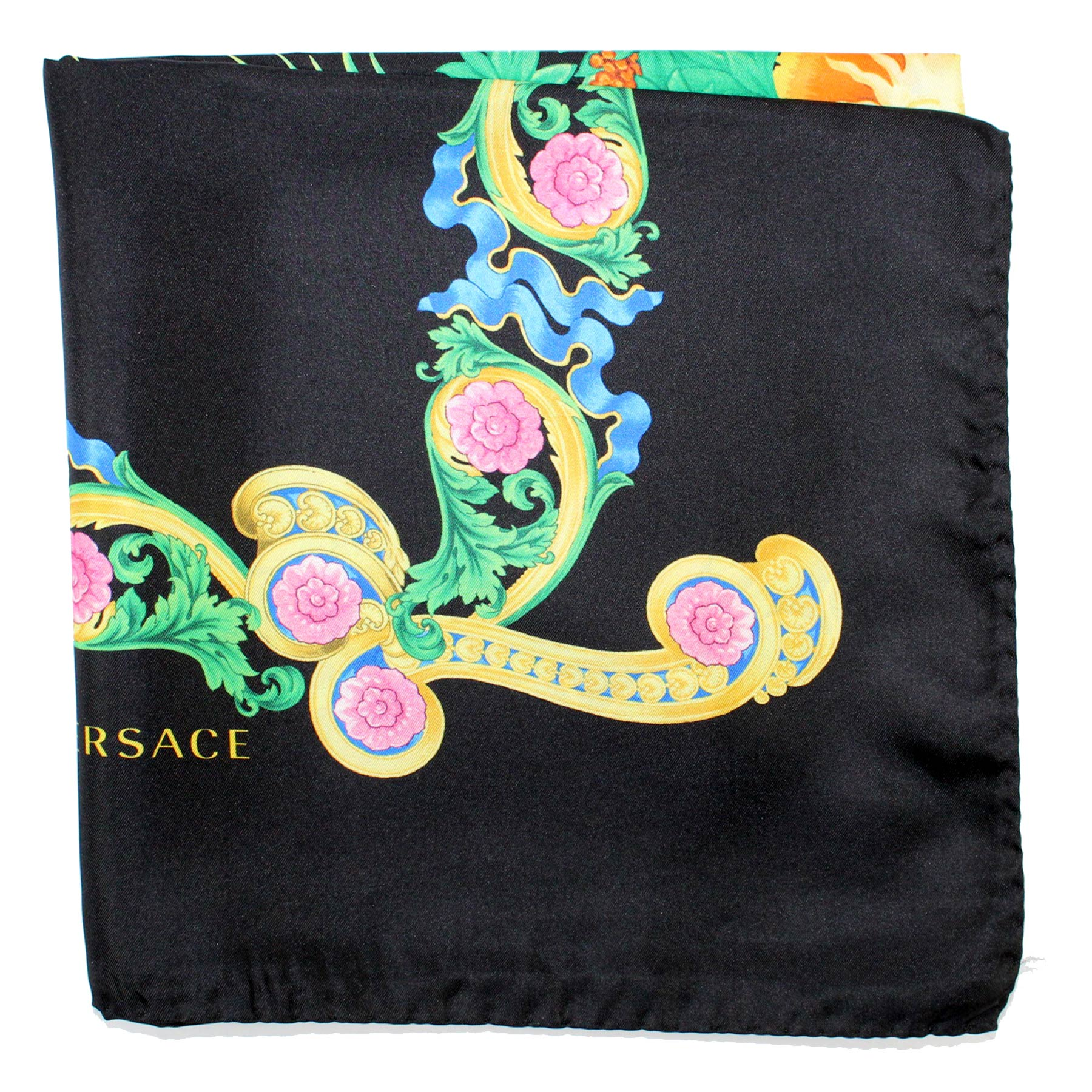 Versace Scarf Black Miami Florida USA Design