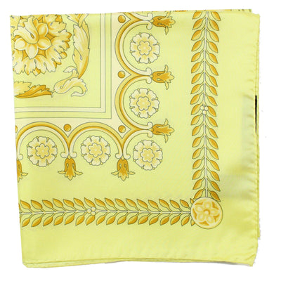 Versace Scarf Yellow Signature Baroque