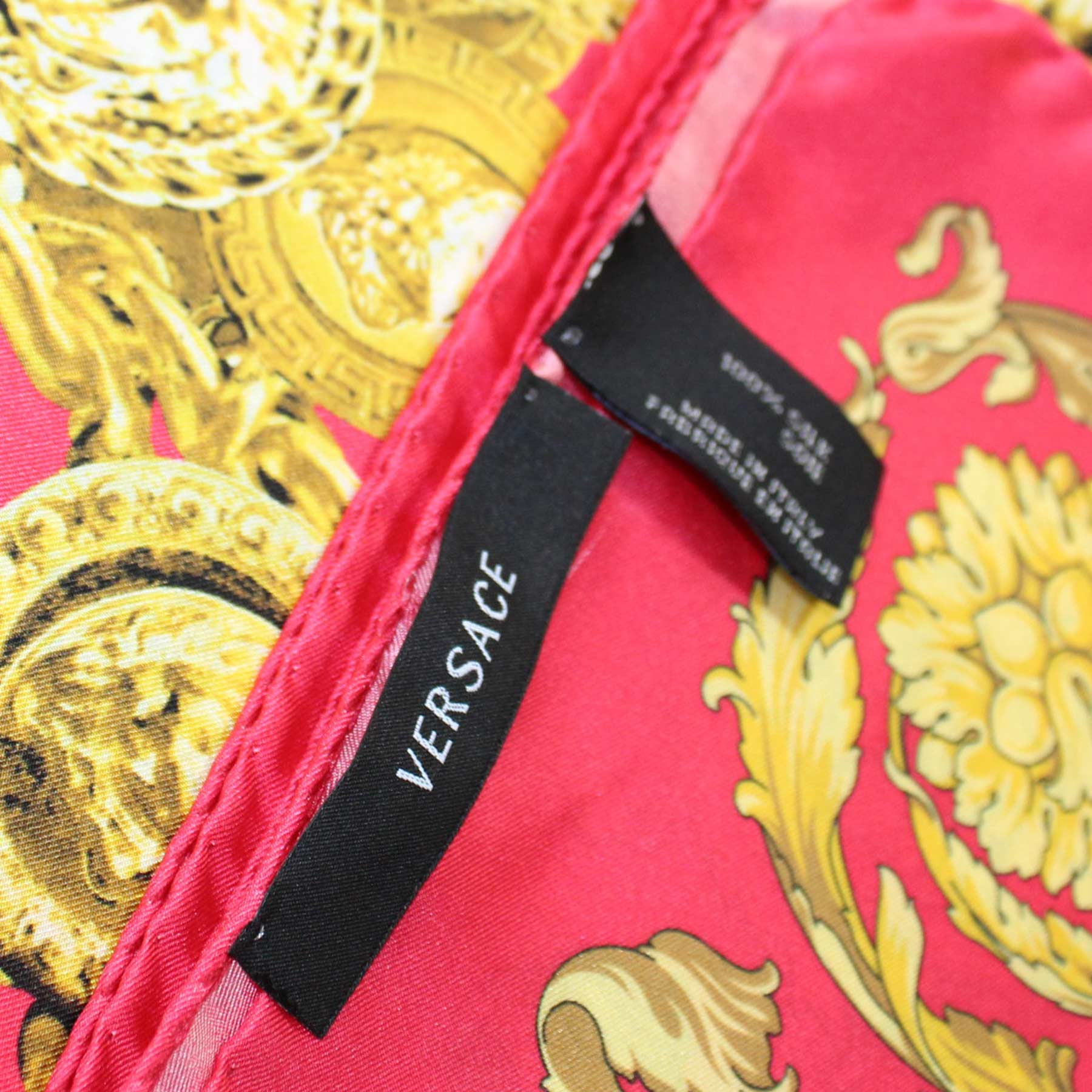 Authentic Versace silk scarf