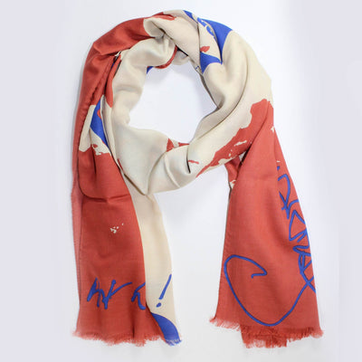 Vivienne Westwood Save The Planet Shawl SALE