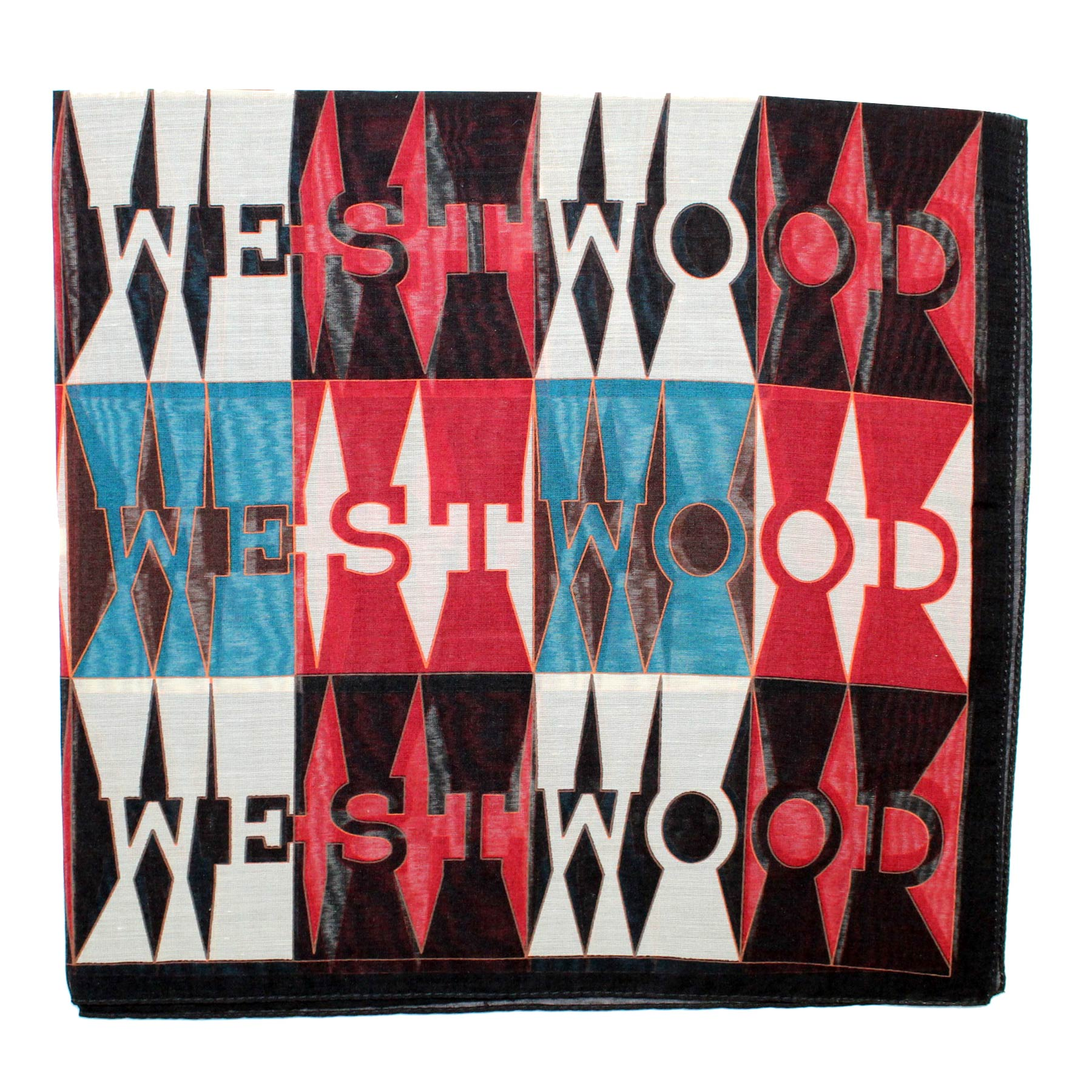 Vivienne Westwood Fazzoletto Midnight Blue Brown Logo