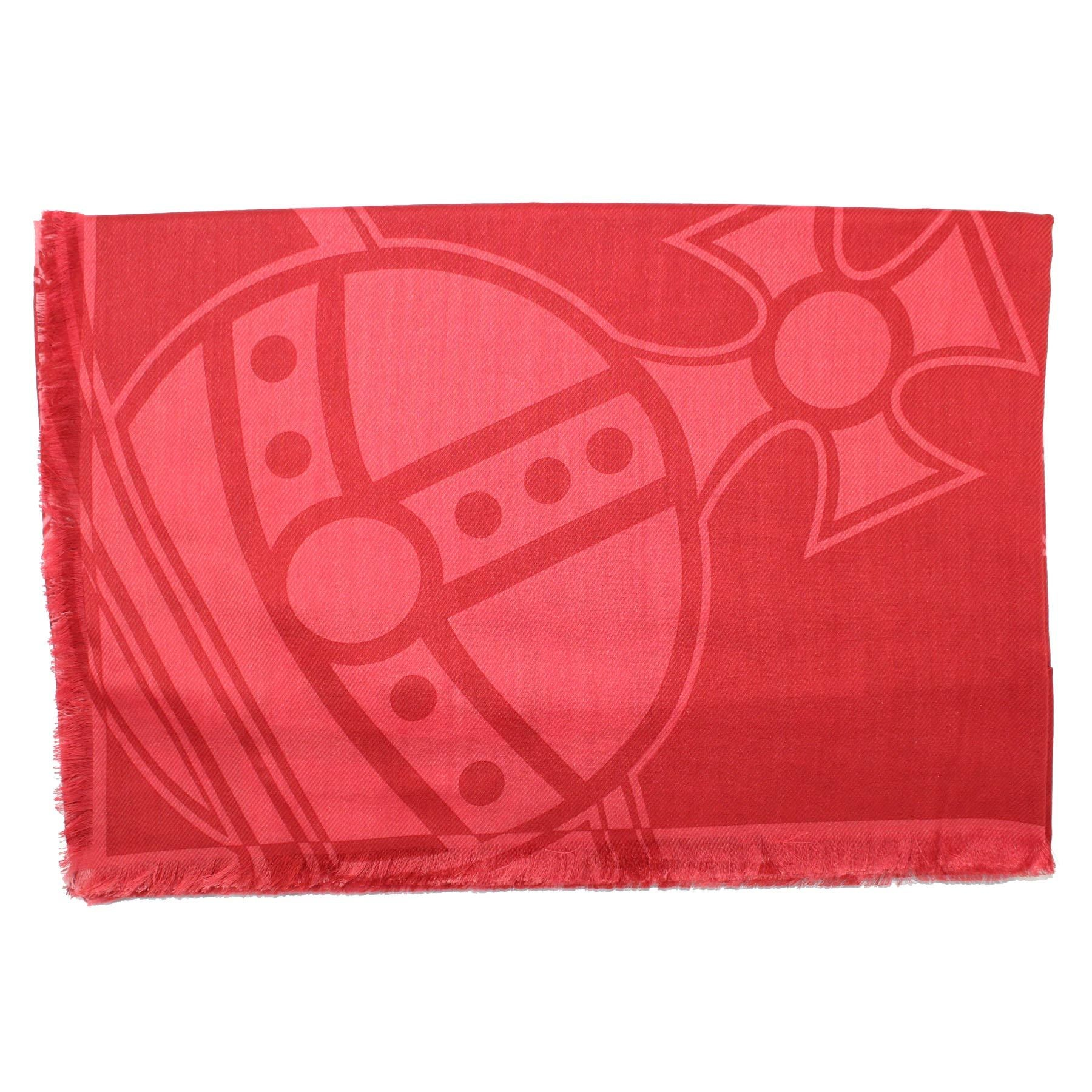 Vivienne Westwood Scarf Red Pink  Extra Large Wrap