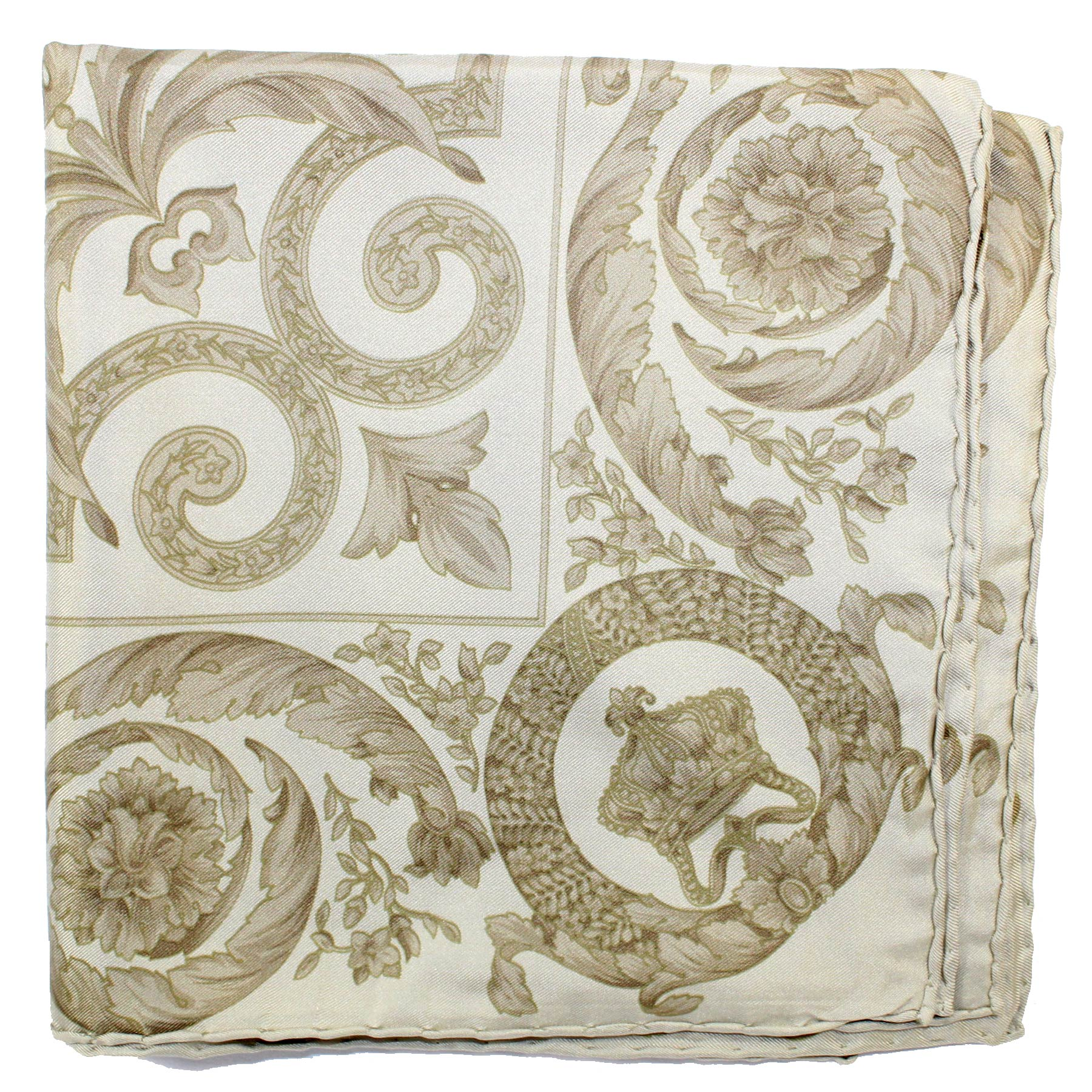 Zenith Vintage Scarf Taupe Baroque