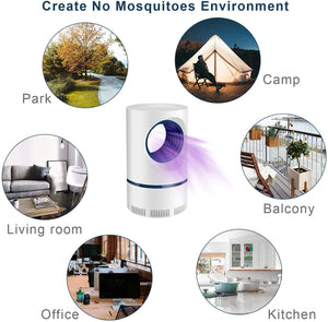 MOSQUITO TRAP LAMP WITH BIONIC WAVE SYSTEM™