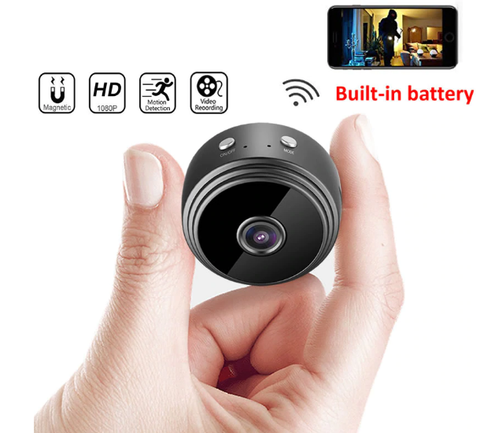 A9 Mini WiFi Security Camera 1080P HD Wireless IP P2P Motion Detection Night Vision