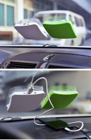 Solar Power Charging Dock
