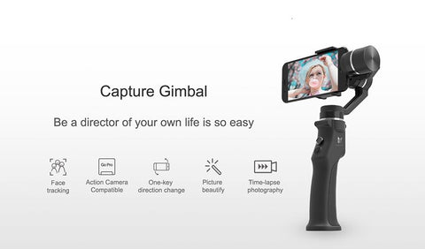 Image of Professional Stabilizer For Smartphone 3 Axis Gimbal