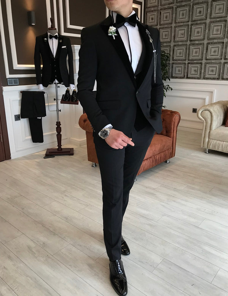 George Black Slim-Fit Tuxedo