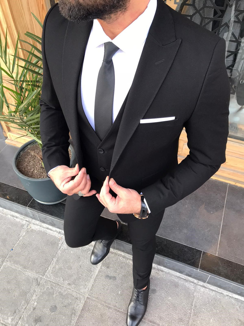 Massimo Elegante Slim-Fit Suits