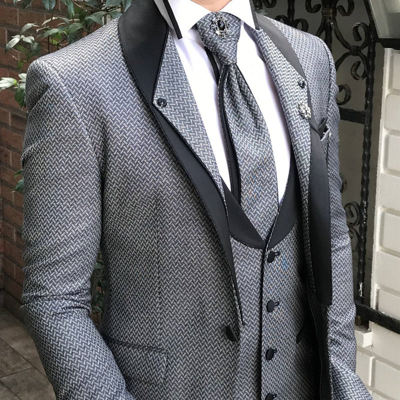 Robert Grey Slim-Fit Tuxedo