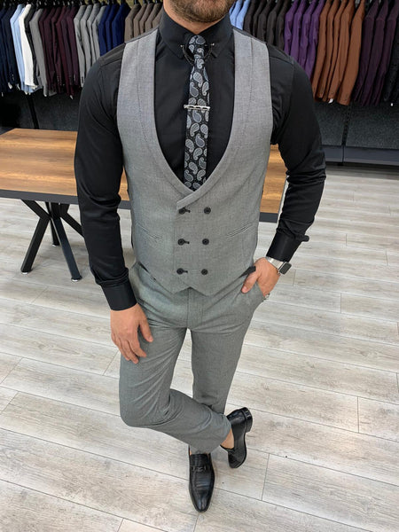 Nardo Grey Slim-Fit Suit