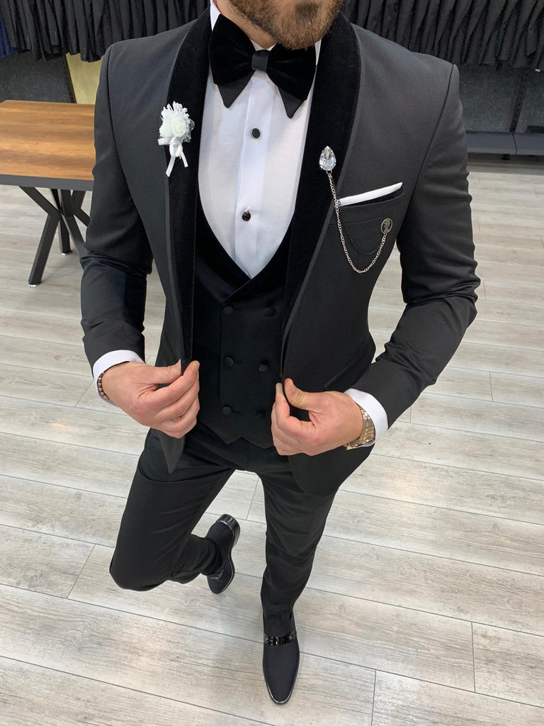 Hugo Z-Black Slim-Fit Tuxedo