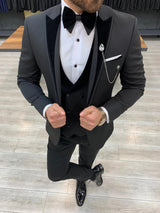 Guido Black Slim-Fit Tuxedo