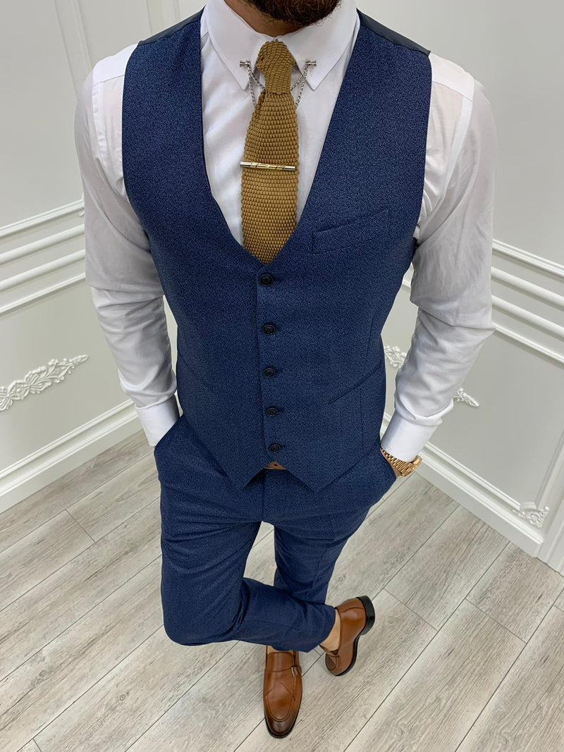 Tane Navy Slim-Fit Suit