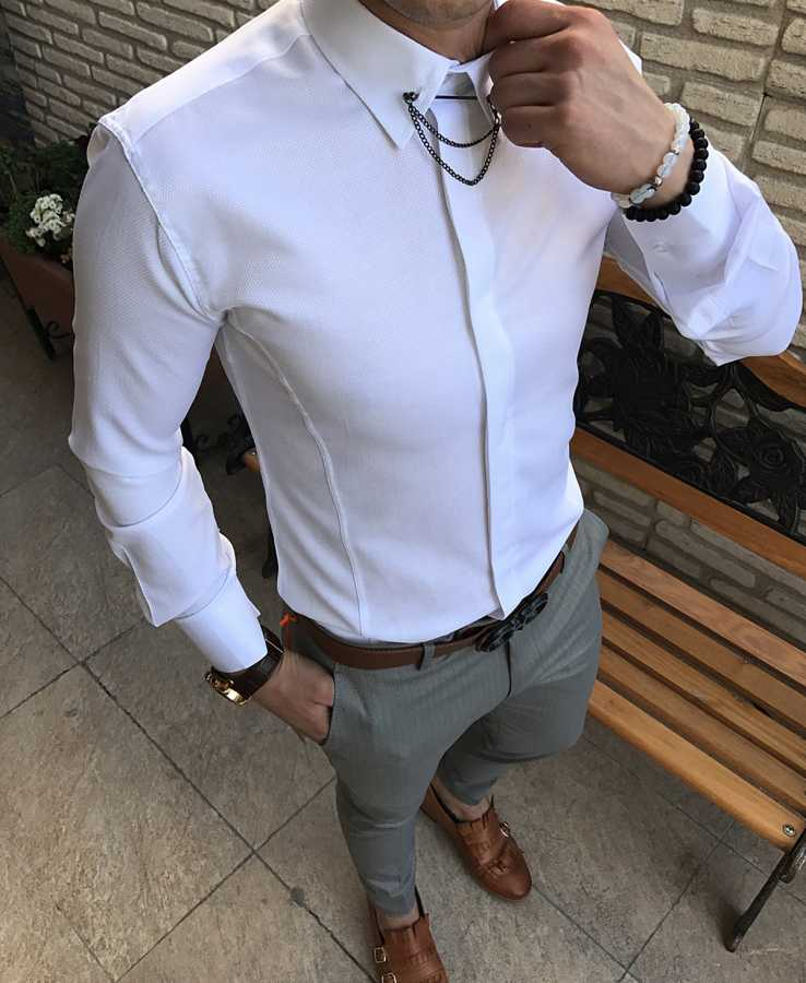 Italian Slim-Fit Shirts