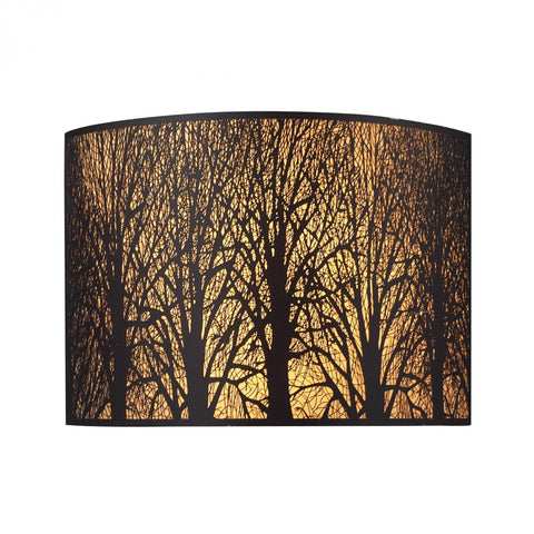 Woodland Sunrise 2-Light Wb in Aged Bronze | 31070/2