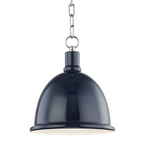 1 Light Small Pendant | H238701S-PN/NVY