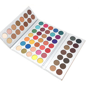 Beauty Glazed 63 Colors Eyeshadow Professional Palette Powder - Gaby.shop