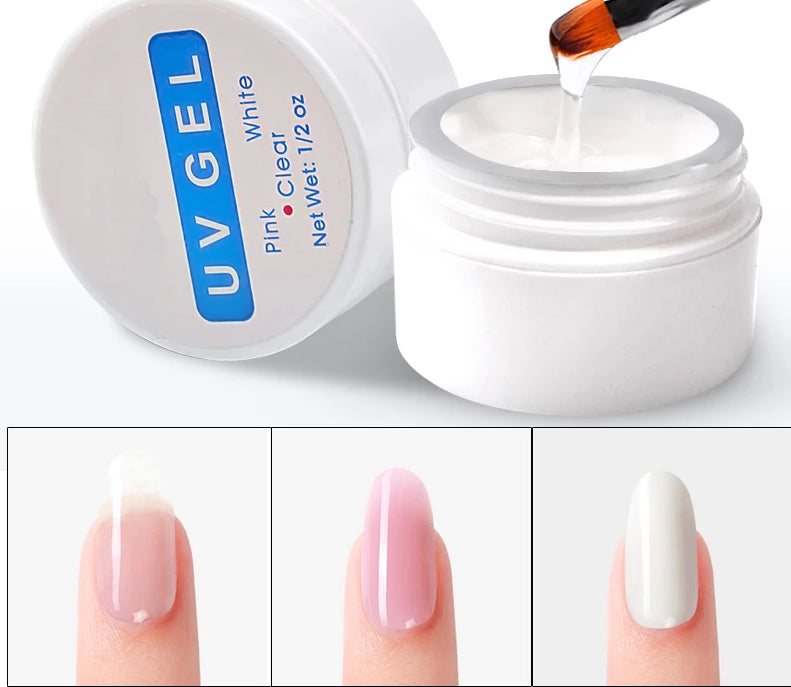 Nail Extension Gel 3 colors Poly Gel Builder Gel For Finger Extension - Gaby.shop