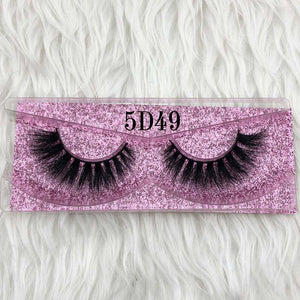 Thick Long 5D mink eyelashes long lasting mink lashes natural dramatic volume eyelashes - Gaby.shop