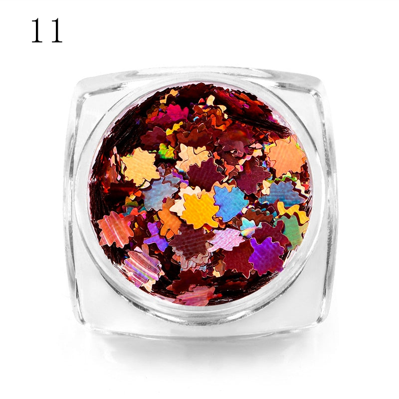 Chameleon Laser Multicolor Sequins Nail Art Gel Polish Tool Decor Manicure - Gaby.shop