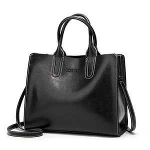 Leather Handbags Big Women Bag High Quality Casual Female Bags Trunk Tote Spanish Brand Shoulder Bag Ladies Large Bolsos - Gaby.shop