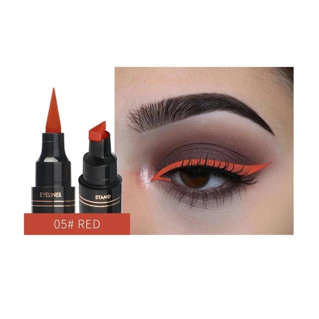 Hot New Long Lasting Waterproof Double-ended Eyes Liner Liquid Make Up Pencil - Gaby.shop