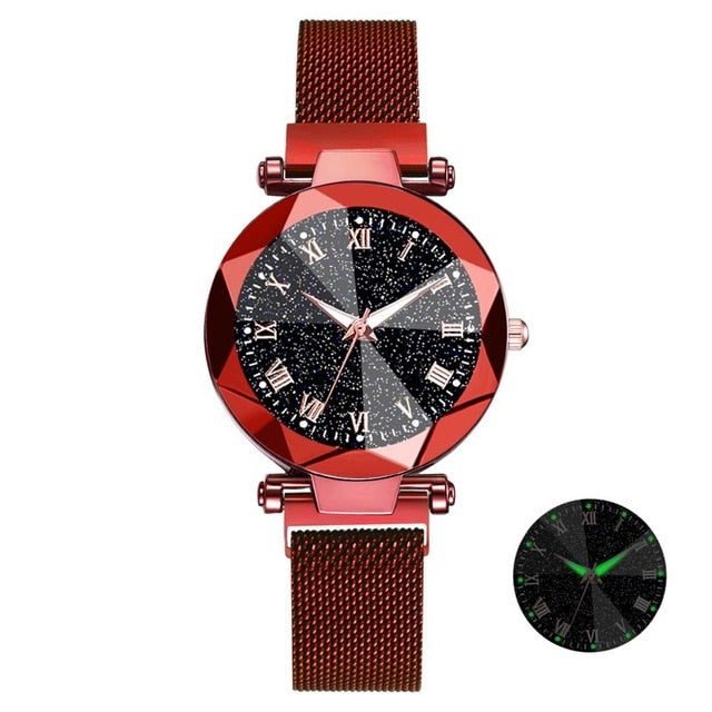 Luxury Crystal Analog Quartz Wristwatches Ladies Sports Dress Clock - Gaby.shop