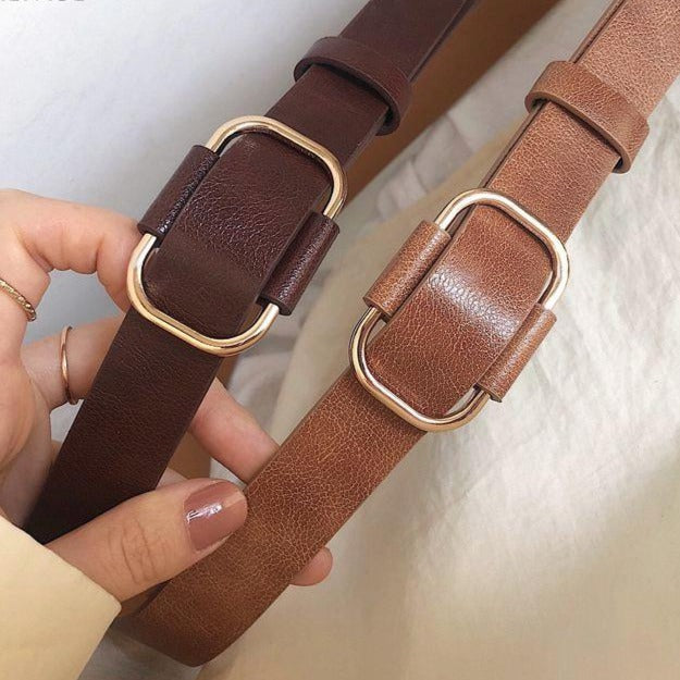 New fashion designer design ladies luxury leather brand belts - Gaby.shop