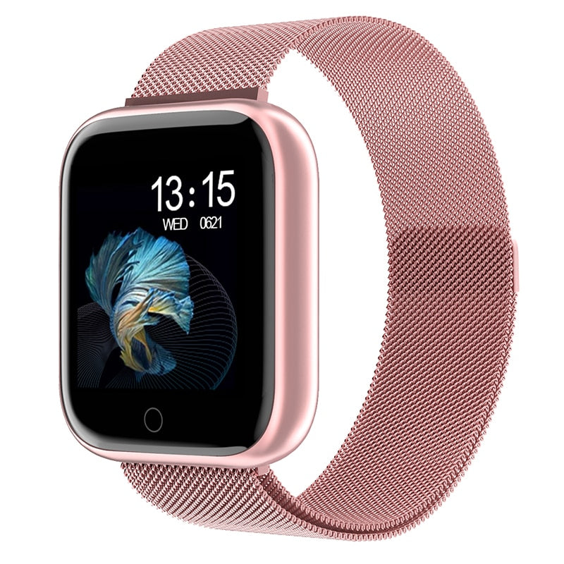 Waterproof Smart Watch P70 P68 Plus Bluetooth Smartwatch For Apple IPhone Xiaomi - Gaby.shop